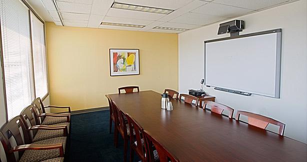 Photo of an OAH mediation room